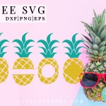 pineapple free svg file