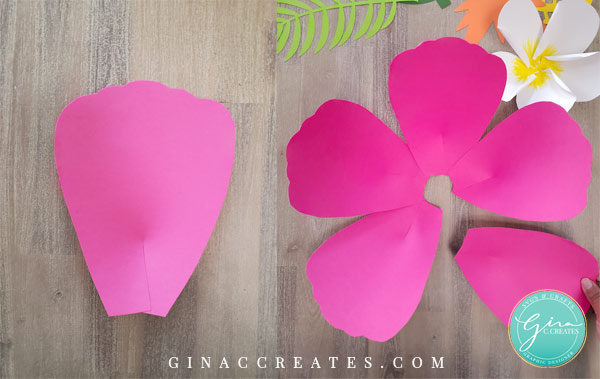 hawaiian paper flower