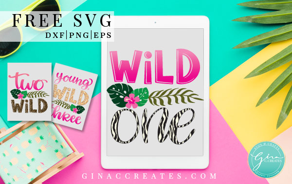 free wild one svg, cricut birthday shirt