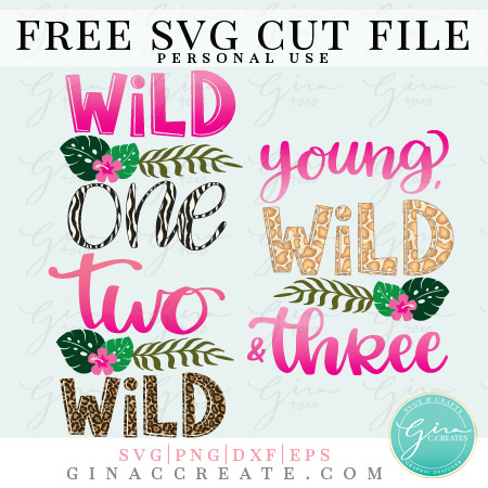 free wild one svg, cricut birthday shirt