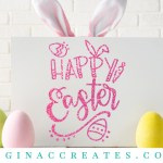Free SVG Happy Easter Cut File, easter eggs svg