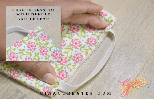 no sewing machine face mask tutorial and free pattern