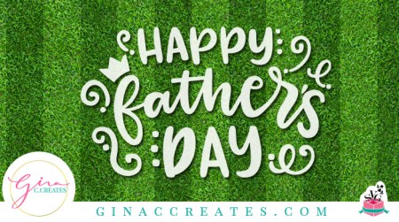free Happy Father's Day SVG cut file