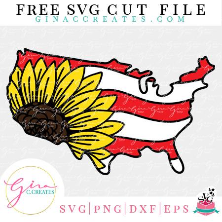 fourth of July free svg cut file