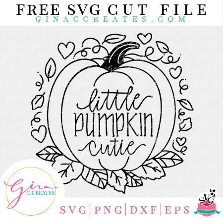 free little pumpkin cuties svg