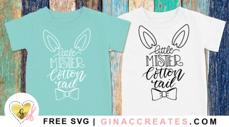 little mister cotton tail free svg