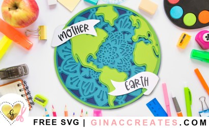 20 Earth Day Free SVG Cut Files