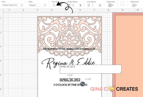 Cricut wedding invitation, diy wedding pocket free svg