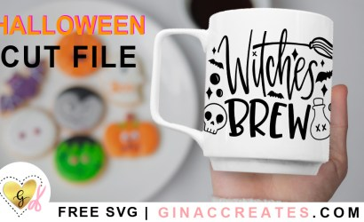 Halloween Witches Brew Free SVG Cut File