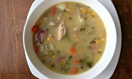 Great Grandma's Turkey Soup