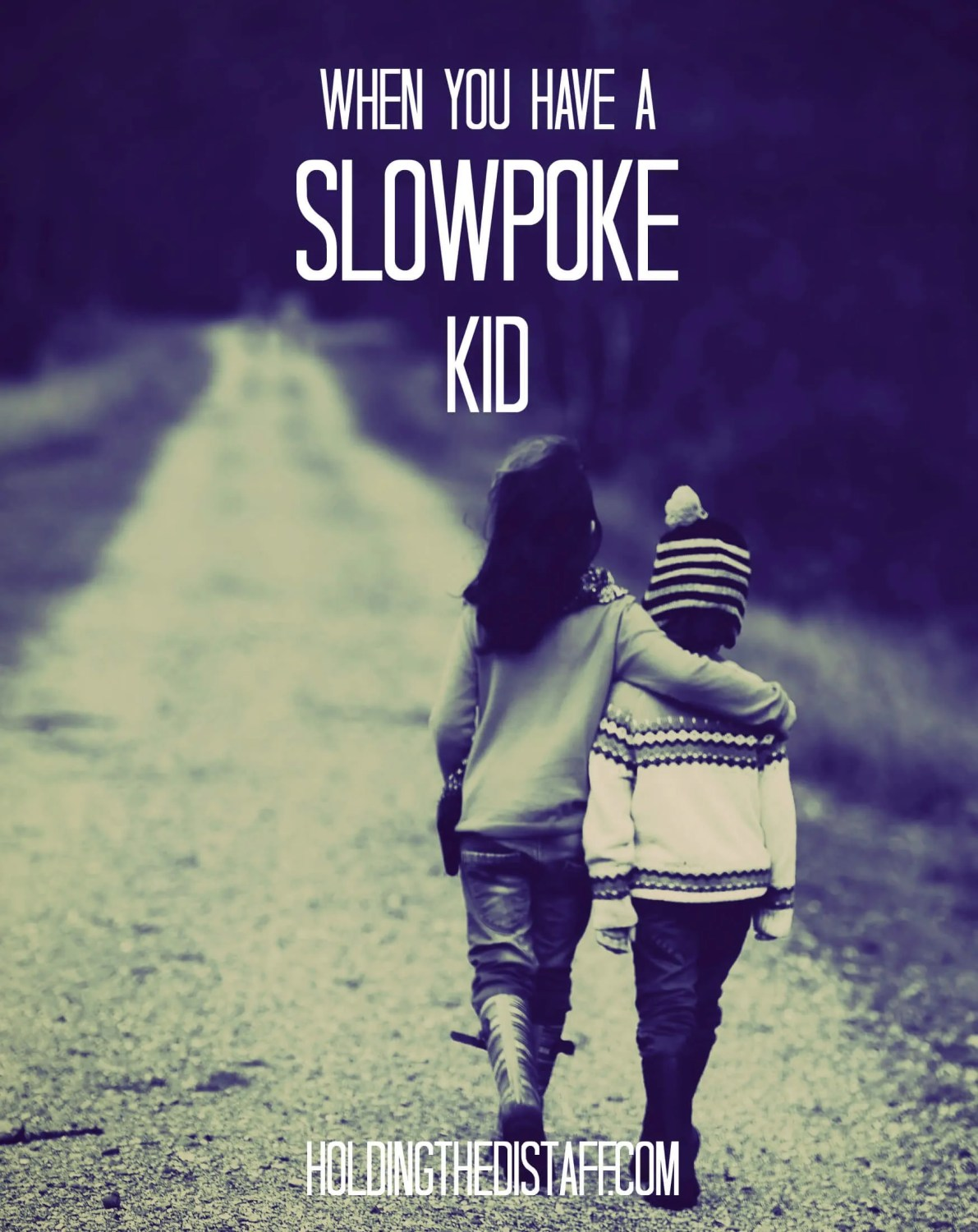 """When You Have a Slowpoke Kid:I have what you might call a """"slowpoke"""" child. When it comes to efficiency, it turns out I may have more to learn from him than he has to learn from me."""