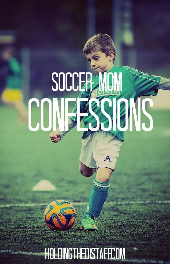 Soccer Mom Confessions: what's really going on over on the sidelines.