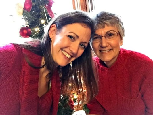 mom and gina
