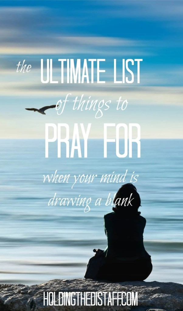 Does your mind go blank when it's time to pray? It's common to feel distracted, overwhelmed or insecure about prayer. Here are tips to help you focus.