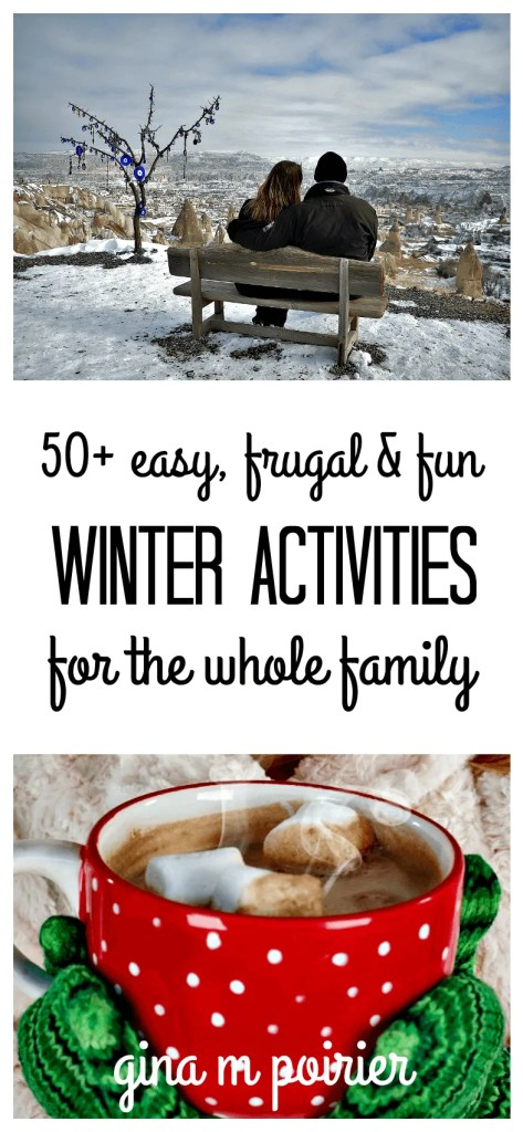 fun winter activities | cheap | easy | families | kids | adults