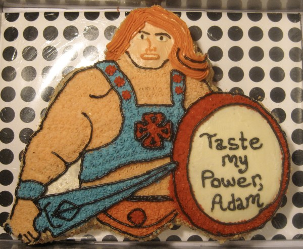 He Man Birthday Cake