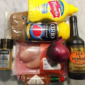 Shot showing all the ingredients for this recipe.