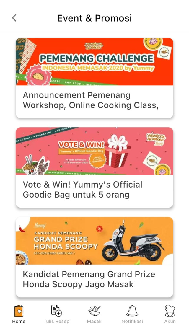 event-yummy-app
