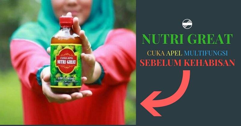 Jual Cuka Apel Nutri Halal