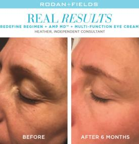 redefine real results heather