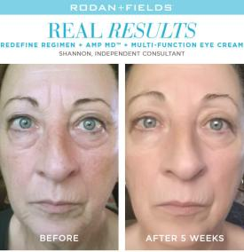redefine real results shannon