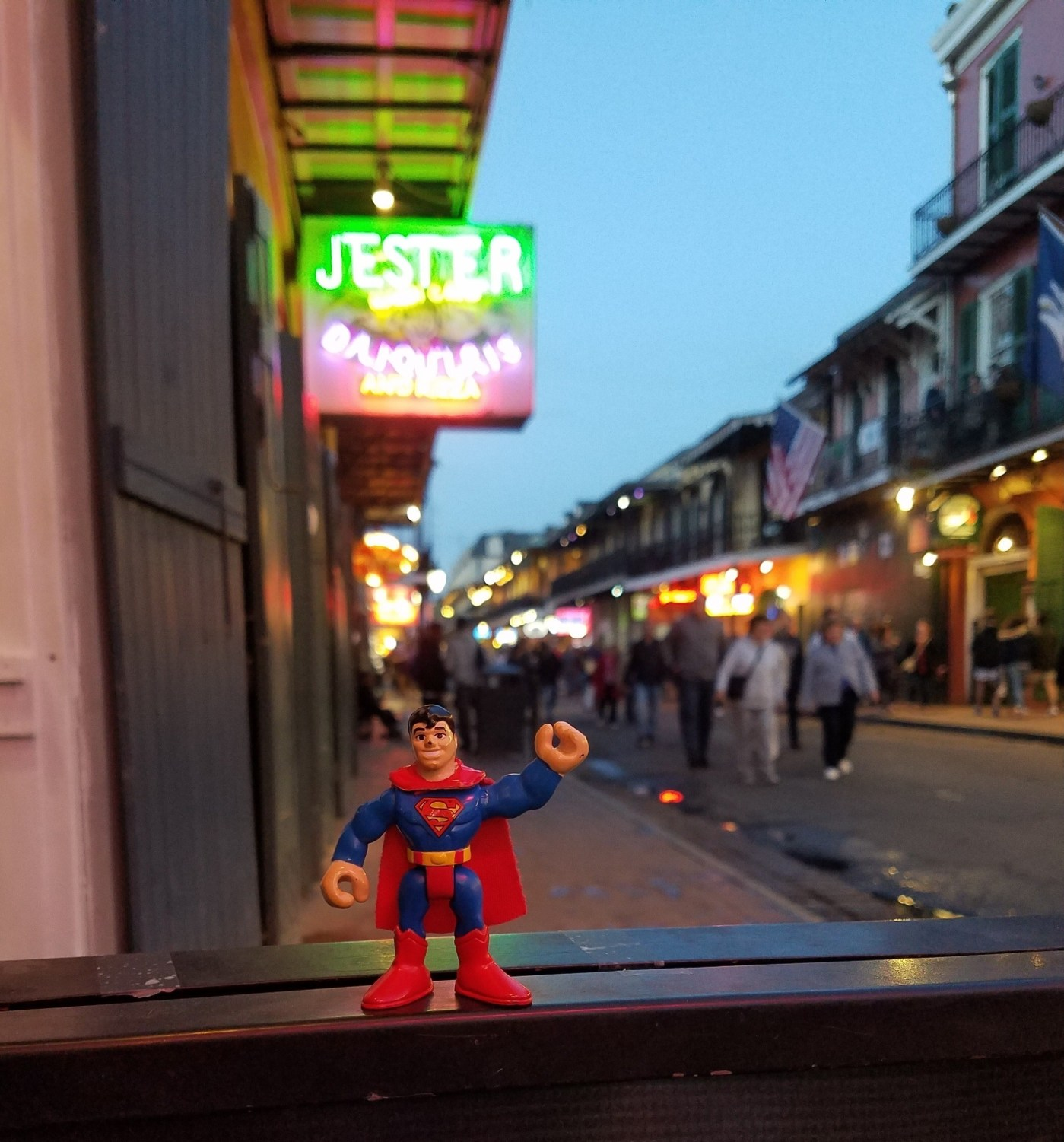 Traveling Superman Orleans Gina' Inkwell