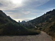 הנוף מעין שיח במורד הנחל אל הבוסתן והים