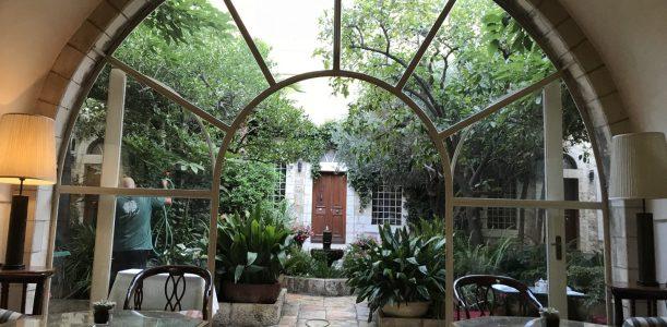בועה בירושלים – מלון האמריקן קולוני