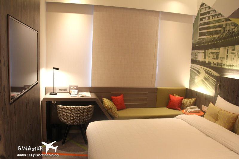 首爾江南區住宿》充滿設計感的 ibis Ambassador飯店 (ibis飯店/ibis호텔) 附有飯店桑拿/汗蒸幕簡介、近COEX Mall三成站、宣陵站