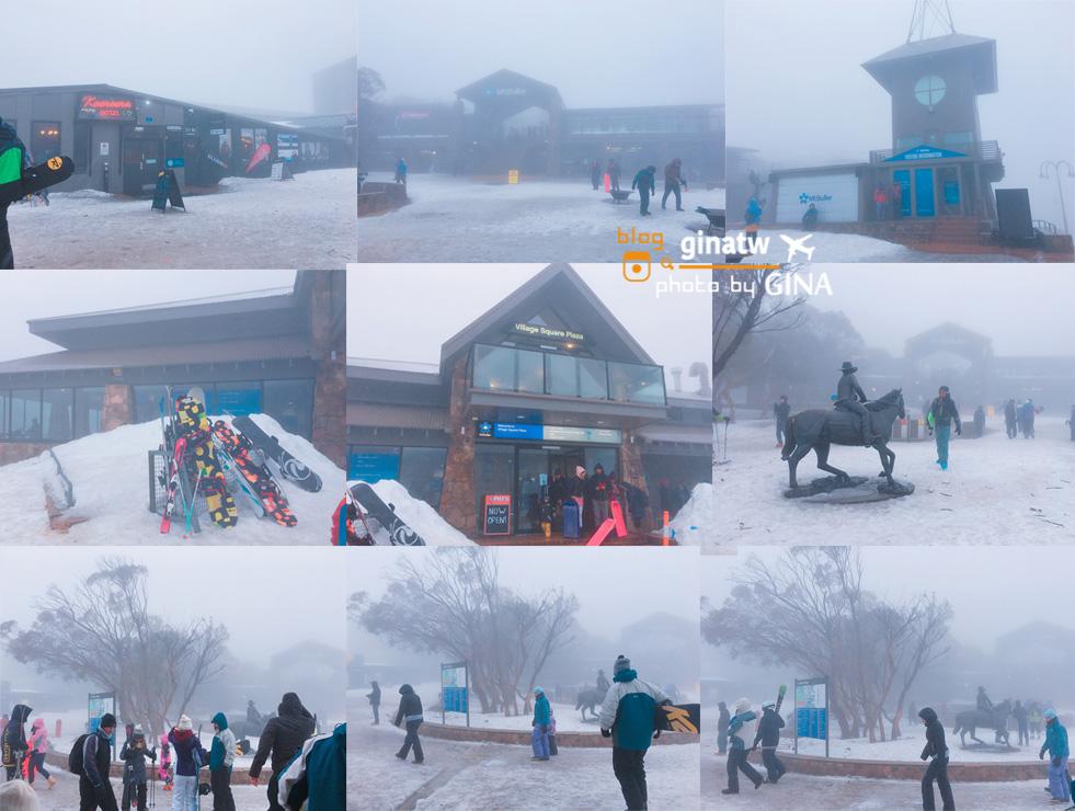 墨爾本滑雪賞雪》Mt. Buller 布勒山滑雪體驗 墨爾本居然也可以看到雪!
