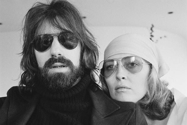 Peter Wolf and Faye Dunaway in the 1970s