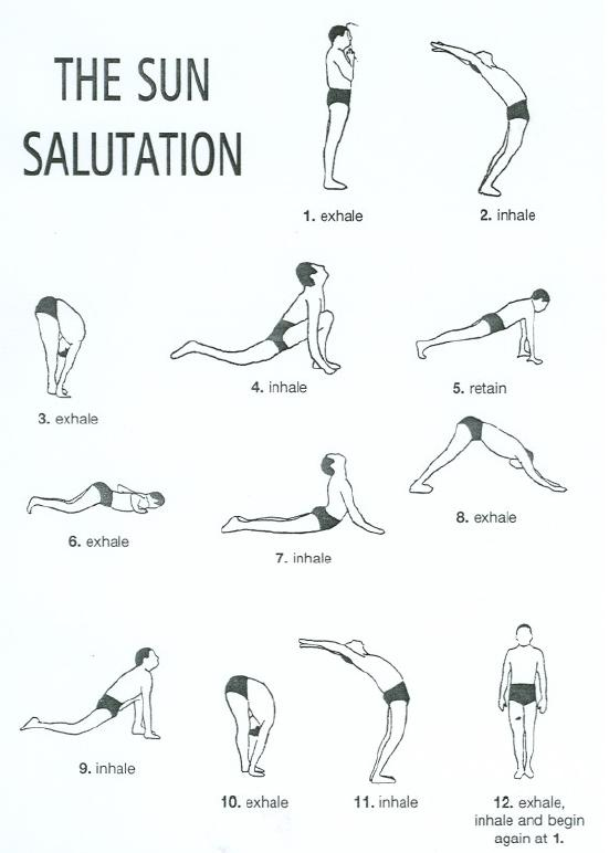 What is a good Morning Hatha Yoga Routine I could do