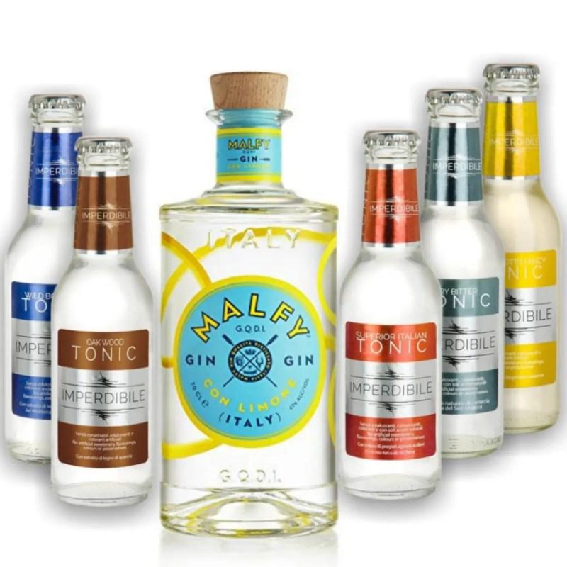 Billede til køb af Malfy ginpakke med Limone