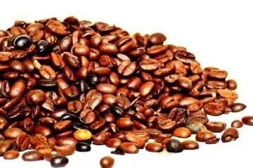 Billede af kaffebønner til blog