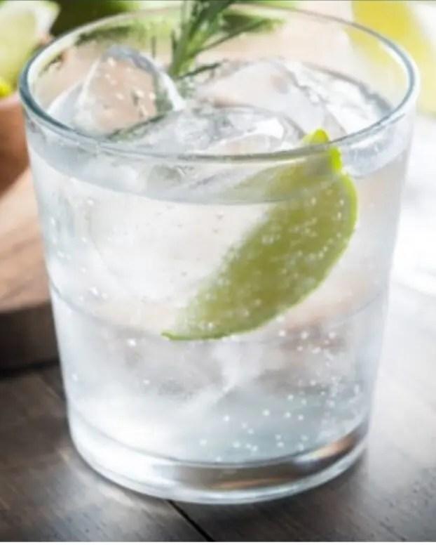 Billede af en gin og tonic med purity craft nordic gin