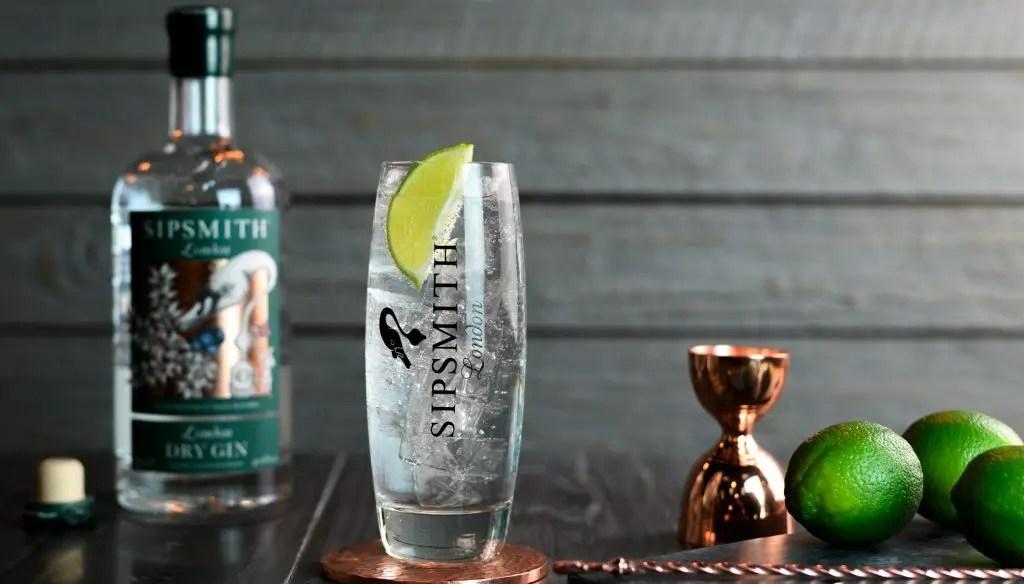 Serveringsbillede Sipsmith London Dry Gin