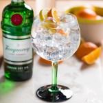 Billede af Tanqueray gin med appelsin
