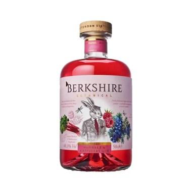 salgsbilled Berkshire Botanicals Rhubarb Raspberry Gin