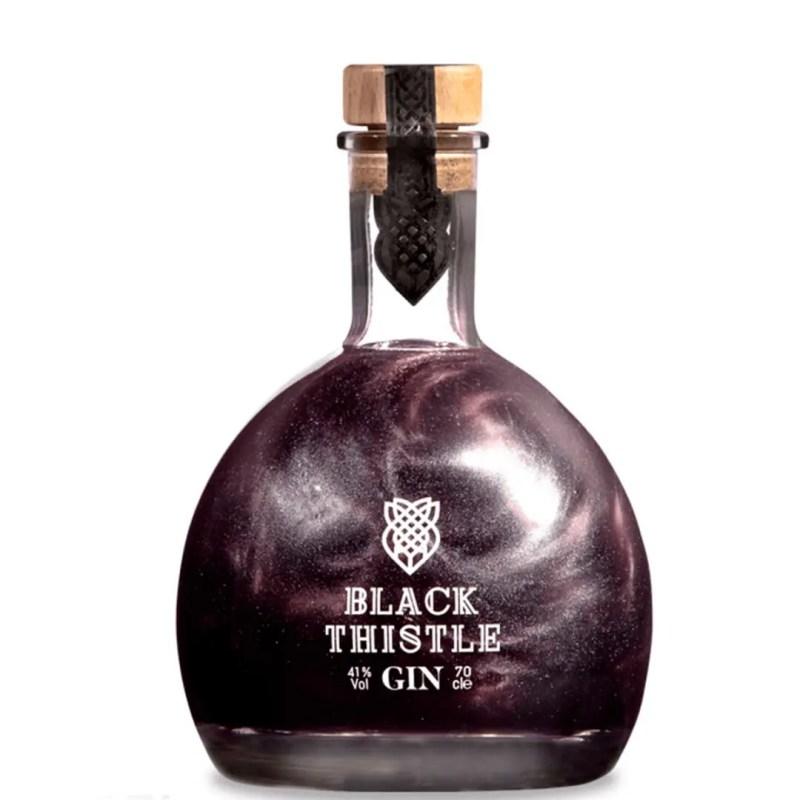 Billede af en flaske Black Thistle Gin