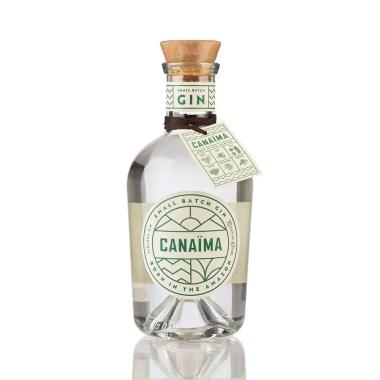 billede af en flaske Canaima Gin