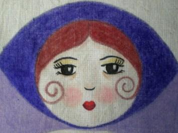 Pintada con crayolas