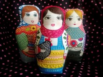 Nancy, Tere y Luz