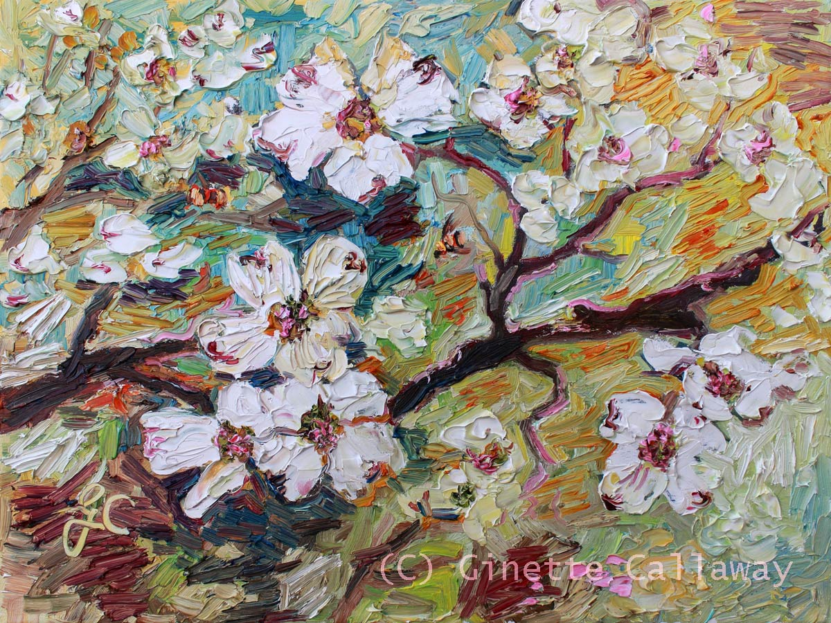 Ginette Paints Watercolors Impressionist Oil Paintings