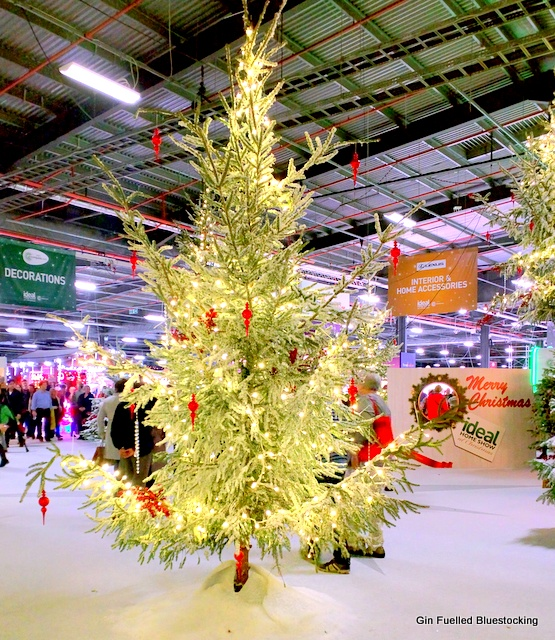 The Ideal Home Show at Christmas