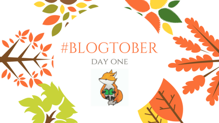 blogtober day one title