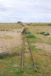 Tracks in Dungeness