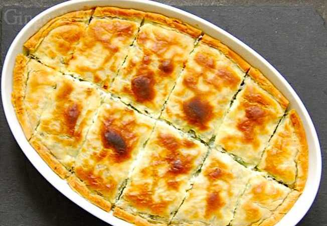Bosnia: Zeljanica – Spinach and Feta Pie