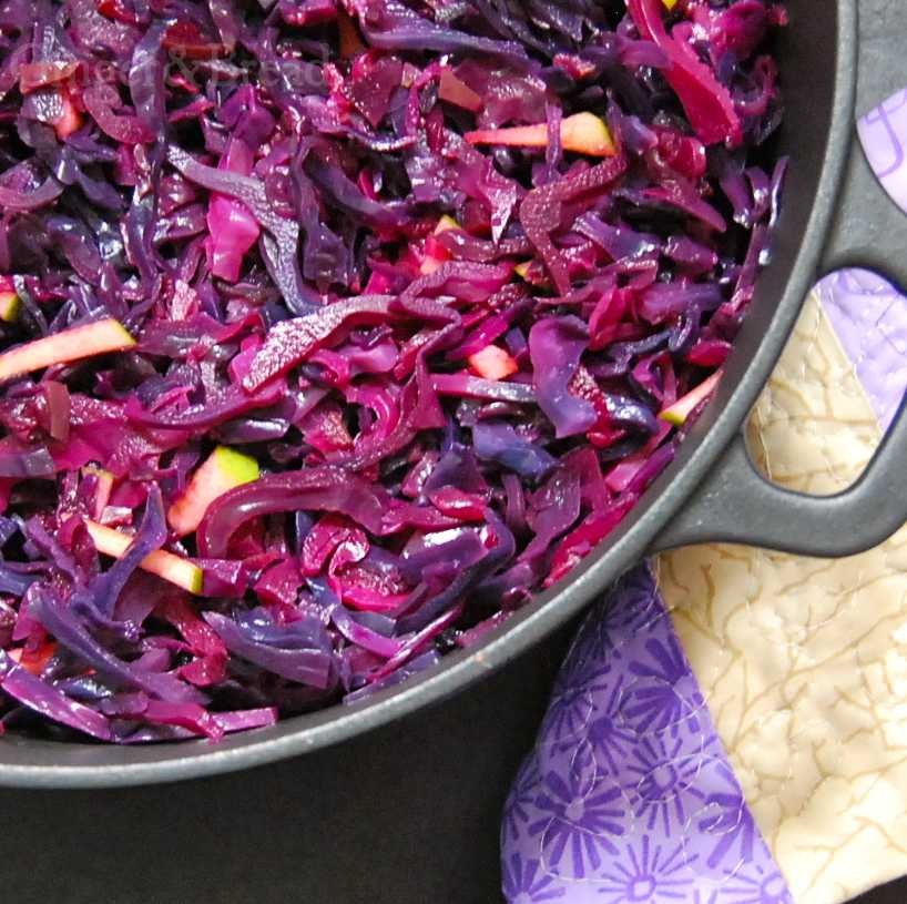 Braised Red Cabbage: Adding Colour to your Table