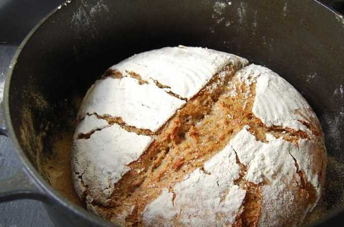 Wholewheat, Rye and Oat Bread