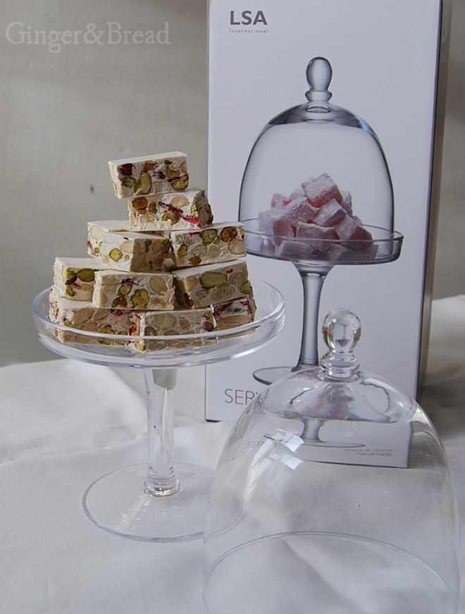 LSA cake stand and dome